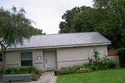 Standing seam steel roof