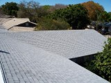 A reroof project in Whitby