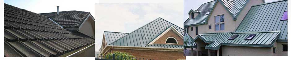 steel roofing Oakville, Burlington and Milton