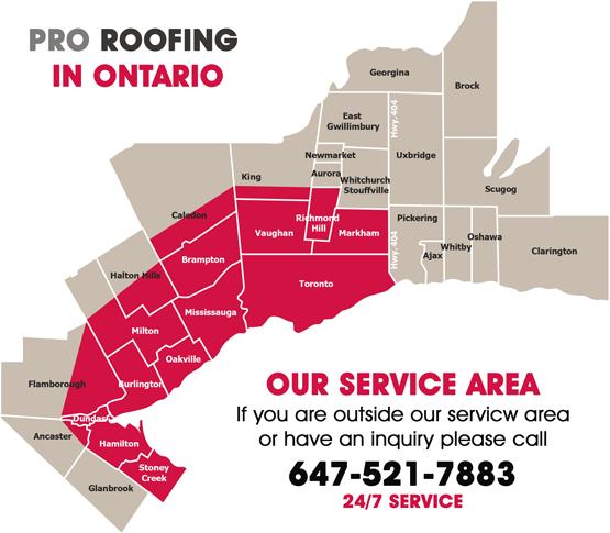 Roofing Contractors Ontario Canada Pro Roofing Inc
